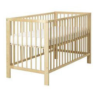 Кроватка детская ГУЛЛИВЕР береза ИКЕА, IKEA, фото 1