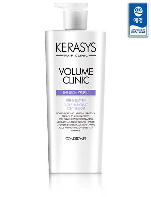 Кондиционер для волос KERASYS Volume Clinic Conditioner 750ml (KERASYS)