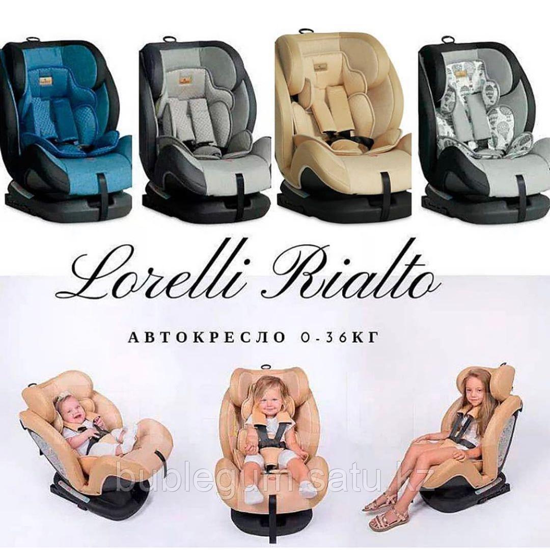 Автокресло 0-36 кг Lorelli RIALTO Isofix (BBC-Q5)