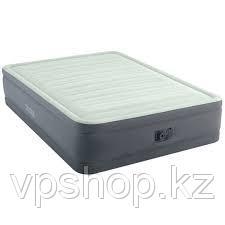 Надувная кровать INTEX 64906 (152X203X46 СМ.) встроенный насос 220 В