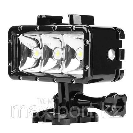 Прожектор фонарь  на Gopro водонепроницаемый, фото 2