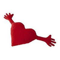 Подушка ФАМНИГ ЙЭРТА красный ИКЕА, IKEA, фото 1