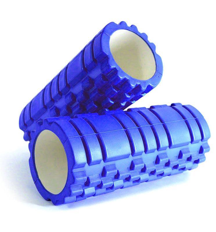 Валик ролик массажный для занятия фитнесом размер 45х15