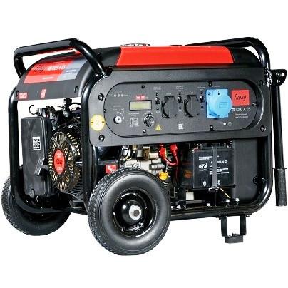 Генератор инверторный цифровой бензиновый TI 7000 A ES 6,5 кВт
