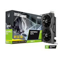 Zotac GAMING GeForce GTX 1660 Ti AMP видеокарта (ZT-T16610D-10M)