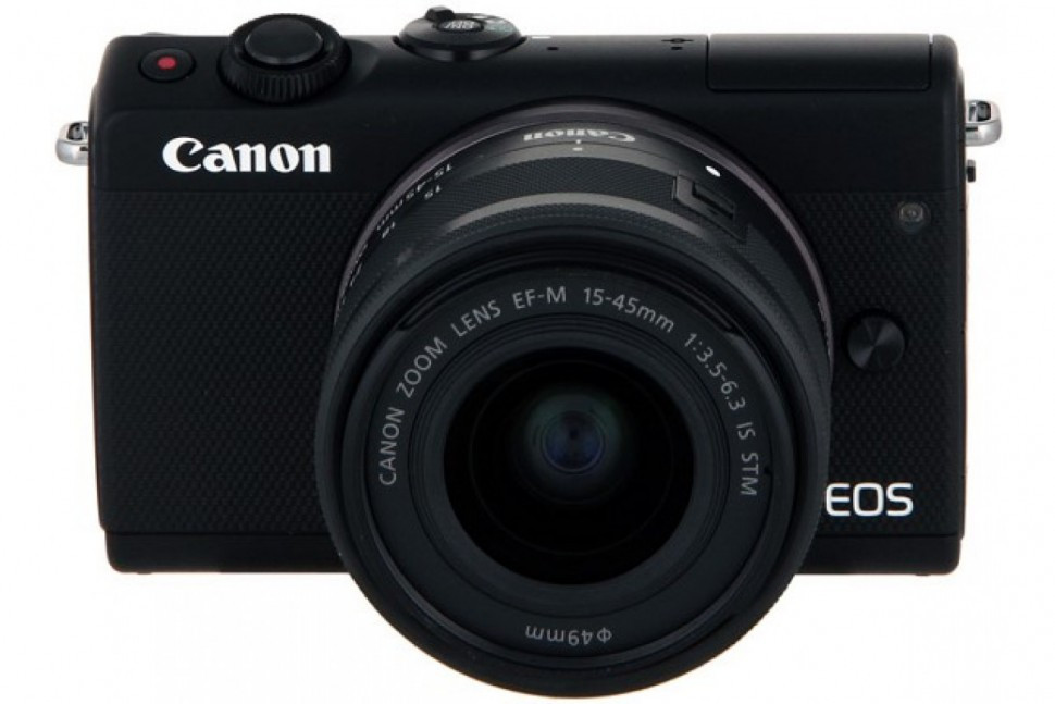 Canon EOS M100 kit EF-M 15-45mm f/3.5-6.3 IS STM черный