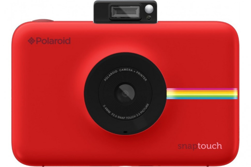 Моментальная фотокамера Polaroid Snap Touch, красная