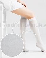 """Капроновые гольфы ниже колена """"Белая роза"""" 8026 размер 37-42 белые"""