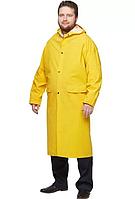 Плащ дождевик жёлтый плотный размер XXXL (T-200)