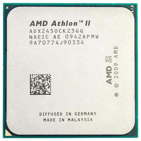 Процессор AMD Athlon II 245 2,9 ГГц двухъядерный, socket AM3 (Б/У), фото 2
