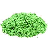 Кинетический песок 1 кг (Зеленый), Китай