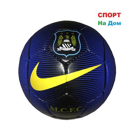 Футбольный мяч Кожа NIKE & Manchester City (реплика), фото 2