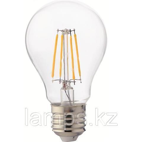 Светодиодная Лампа Эдисона декоративная FILAMENT GLOBE-6 6W 2700K