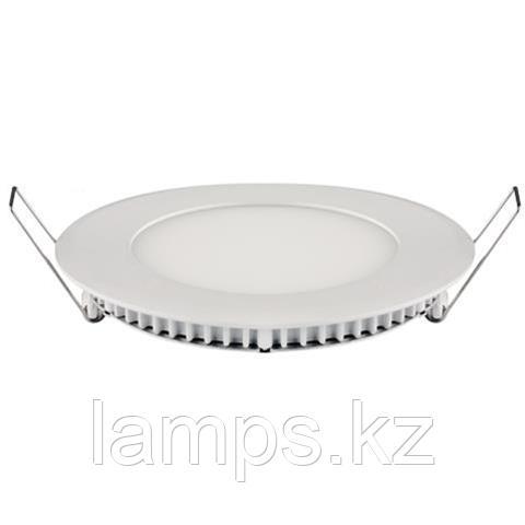LED панель светодиодная круглая D155 SLIM-12 12W 4200K