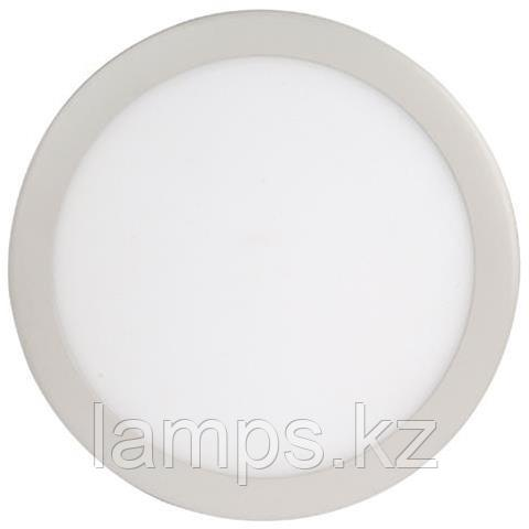 LED панель светодиодная круглая D215 SLIM-18 18W 6400K