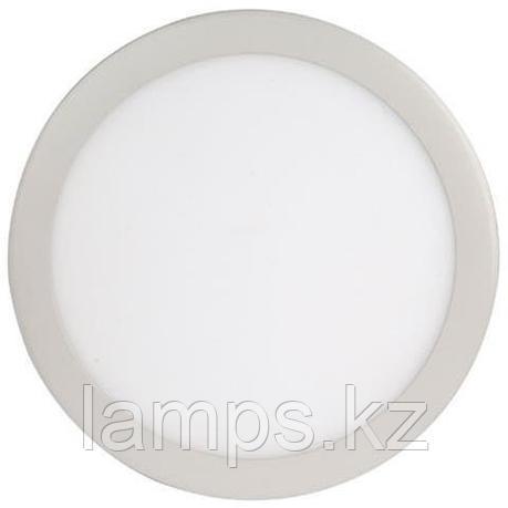 LED панель светодиодная круглая D215 SLIM-18 18W 6400K , фото 2