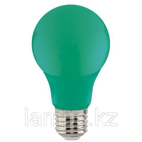 Светодиодная лампа LED цветная SPECTRA 3W зеленый