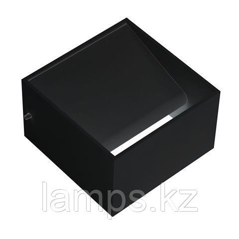 Настенный светильник, бра TRUVA 8W черный 4200K