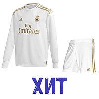 Футбольная форма Реал Мадрид2019/2020 с длинным рукавом