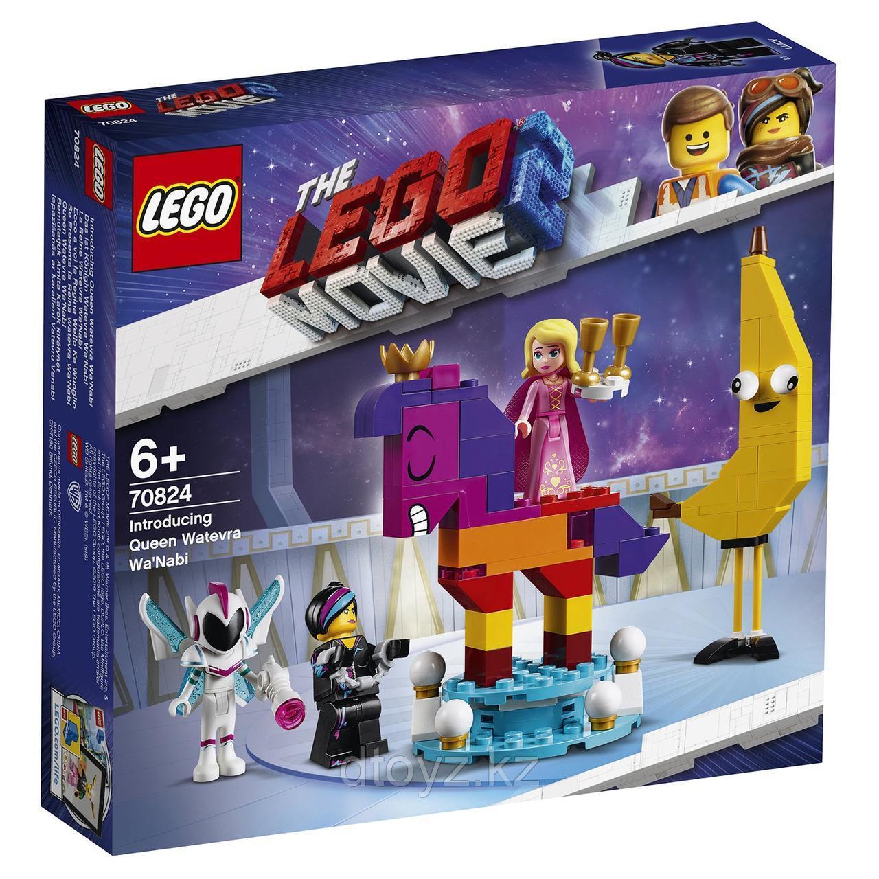 70824 LEGO Movie Познакомьтесь с королевой Многоликой Прекрасной