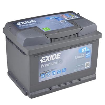 EXIDE Premium EA 612 61Ah