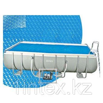 Обогревающее покрывало Intex Solar Pool Cover для бассейнов (732см x 366см)