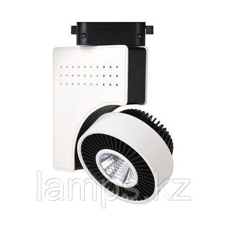 Светильник на шину, трековый, потолочный, светодиодный ZURIH-23 23W черный 4200K, фото 2