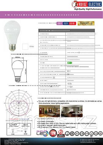 Светодиодная лампа LED диммируемая EXPERT-10 10W 6400K, фото 2