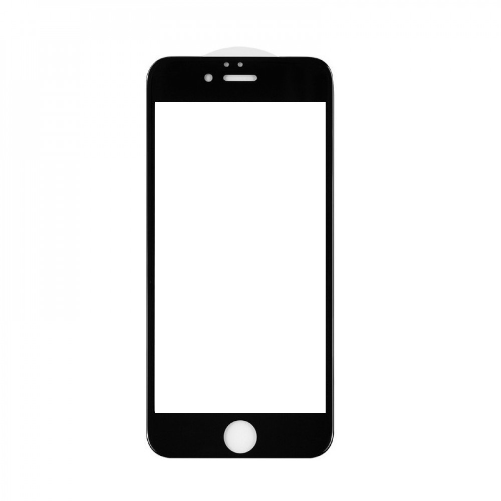 Защитное стекло 5D A-Case Apple iphone 6, iphone 6S, Окантовка Black
