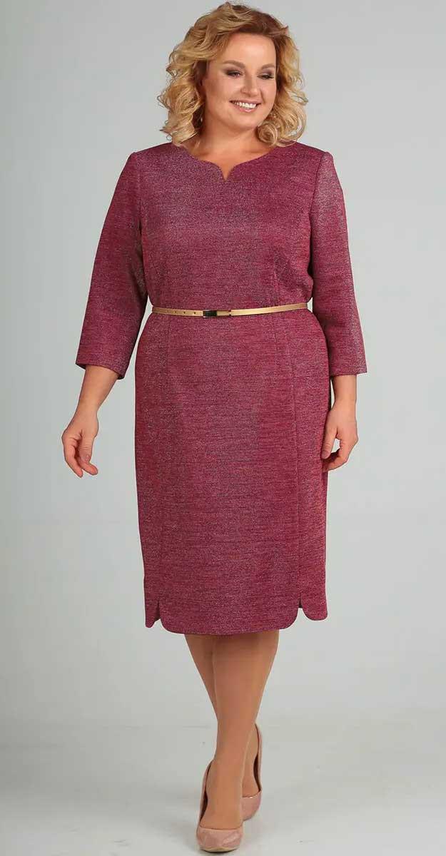 Платье Elga-628/3, малина, 56