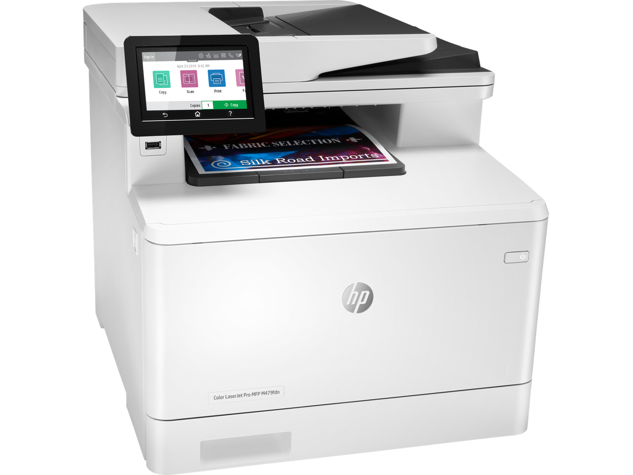 МФУ HP W1A79A HP Color LaserJet Pro MFP M479fdn Prntr (A4) , Printer/Scanner/Copier/Fax/ADF, 600 dpi, 27 ppm,