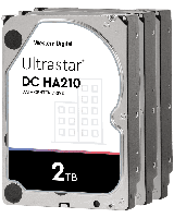 "Жесткий диск повышенной надежности HDD 2Tb WD ULTRASTAR DC HA210 128MB 7200RPM SATA3 ULTRA3,5"" HUS722T2TALA604"