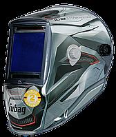 "FUBAG, маска сварщика, ""Хамелеон"" ULTIMA 5-13 Panoramic Silver, зона обзора 100 мм х 93 мм"