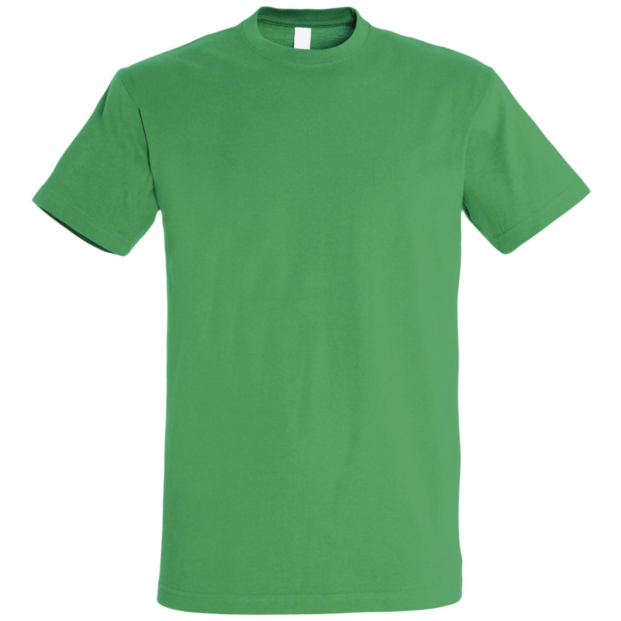 Oднотонная футболка | Зеленая | 160 гр. | S