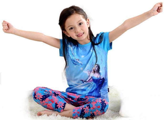 """Пижама """"Золушка"""", с коротким рукавом"""
