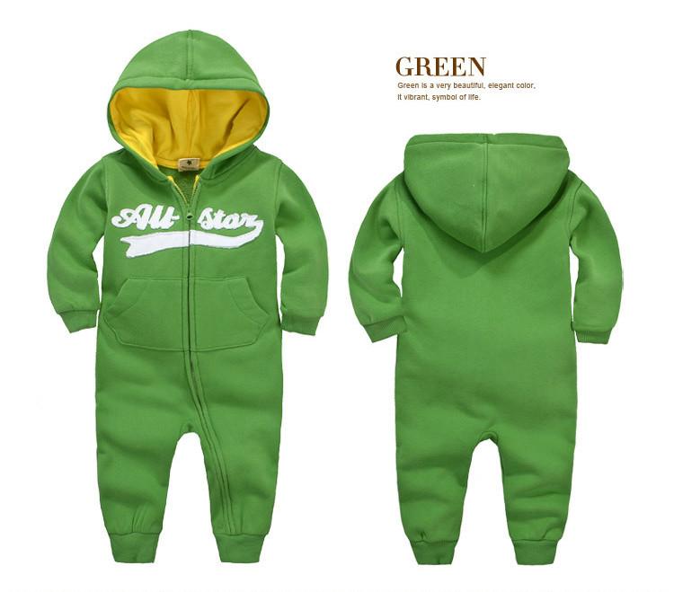 Комбинезон детский, цвет зеленый, на, рост 80  см