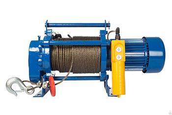 Лебедка тяговая электрическая 0,3Т 220В TOR CD-300-A с канатом 30М