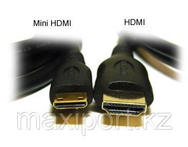 Minihdmi на hdmi кабель для фотоаппаратов и камер