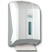 Белая туалетная бумага листовая Z-укладки «Экстра»