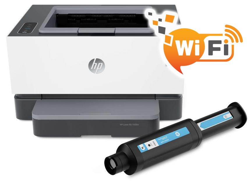 Принтер HP Neverstop Laser 1000w + WiFi, фото 1