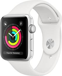 Смарт-часы Apple Watch Series 3 38mm with Silver Aluminium Case Sport Band