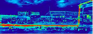 Противопожарная защита в производстве с тепловизорами MOBOTIX