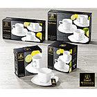 Набор чайная чашка и блюдце Wilmax 200 мл 6 пар (фирменная коробка), фото 3