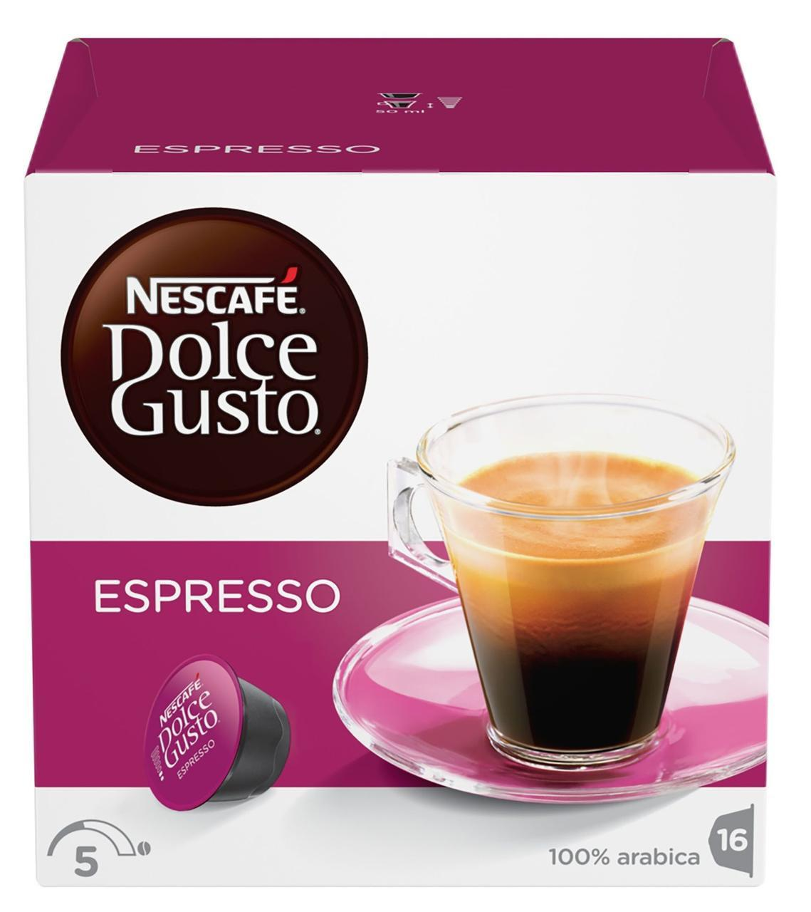 Кофе в капсулах Nescafe Dolce Gusto Espresso