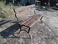 Скамейка со спинкой, фото 1