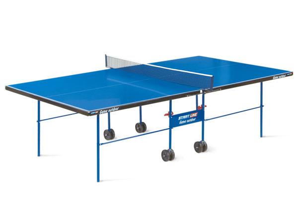 Всепогодный теннисный стол Start Line Game Outdoor 2 с сеткой