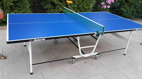 Всепогодный теннисный стол складной на колесах, фото 2