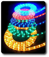 Ламповый Дюралайт 85 м бухта круглый 2-х жильный все цвета, фото 5