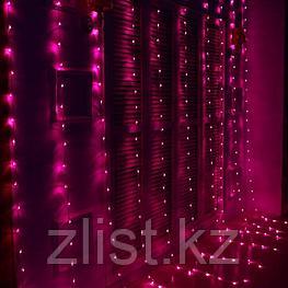 Гирлянды светодиодные, новогодние, уличные Водопад. 2*3 и 3*2 метра