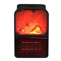 Обогреватель портативный с LCD-дисплеем, пультом д/у и имитацией камина Flame Heater JIEJIA